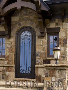 Wrought Iron Single Door Design pictures & photos