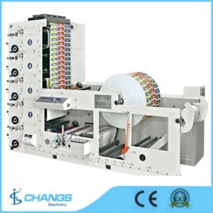 Shr-650 4 Color Cup Paper Printing Machine pictures & photos