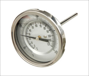 Thermometer Silver Dial (B-0075)