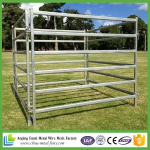2.1m*1.8m Heavy Duty Cheap Galvanized Portable Cattle Yard Panels pictures & photos
