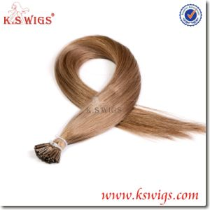 Brazilian Virgin Remy I-Tip Human Hair Extensions pictures & photos