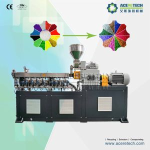 Twin Screw PE Color Masterbatch Making Machine pictures & photos