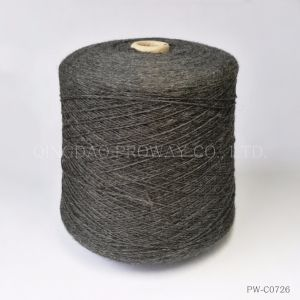 Acrylic Wool Blended Woolen Yarn in Melange Color pictures & photos
