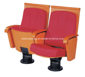Wooden Shell Padded Theater Style Seating (3011) pictures & photos