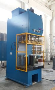 C Frame Licensed Hydraulic Oil Press for Embossing/Drawing/Shaping/Forming with Stroke/Pressure/Dwell Time/Die Height Adjustable 25 Ton C Frame Hydraulic Press pictures & photos