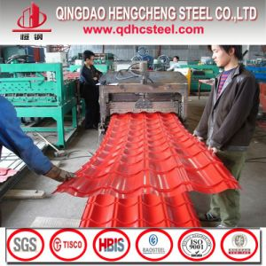 Color Coated Galvanized Steel Corrugated Roofing Sheet pictures & photos