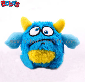 Eco-Friendly Material Blue Monster Pet Toy Plush Stuffed Dog Toy with Squeaker Bosw1063/10cm pictures & photos