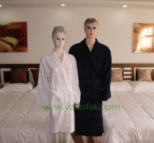 Luxury 100% Cotton Terry Hotel Bathrobe