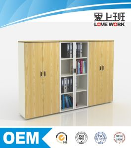 Aluminum Frame Glass Door File Cabinet