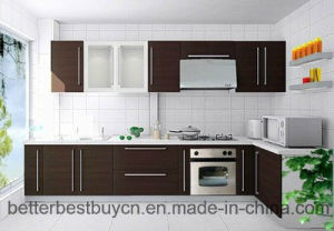 22 Years Fatory Offer Melamine Kitchen Cabinet pictures & photos
