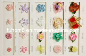 Handmade Ribbon Flower pictures & photos
