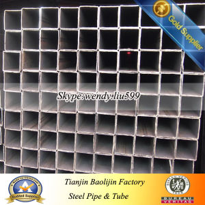 Building Material 18X18 Steel Hollow Section Square Pipe Tube pictures & photos