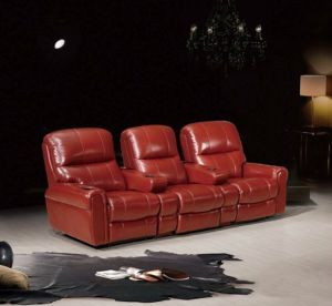 Leather Recliner Sofa, Living Room Sofa, Leather Sofa (YA-605) pictures & photos