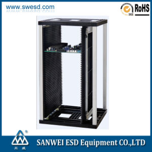 SMT Antistatic ESD PCB Magzine Rack (3W-9805301B4/B4G) pictures & photos