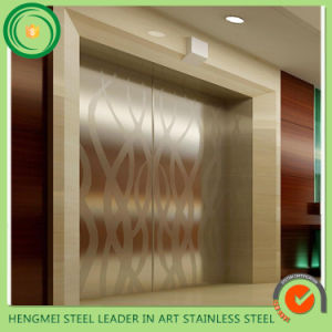 Best Quality Decorative Stainlesssteel Sheet for 304 Elevator Door pictures & photos