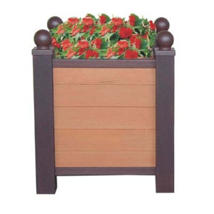Customize WPC Planter for Outdoor Garden Decoration pictures & photos