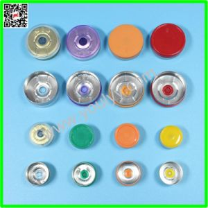 20mm Aluminum Plastic Cap for Bottles pictures & photos