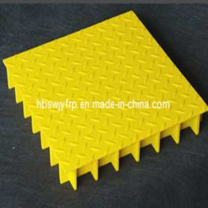 Decorative Pattern Cover GRP FRP Grating pictures & photos