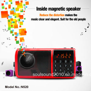 Loudspeaker with Flashlight/FM Radio (N520)