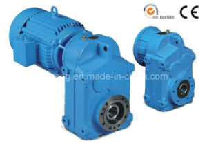 F Series Parallel Shafts Helical Geared Motor (F37)