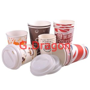 To Go Paper Cups for Hot or Cold Drinking (RPC-001) pictures & photos