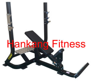 Fitness, Gym equipment, Commercial Strength, Olympic Incline Bench-PT-729 pictures & photos