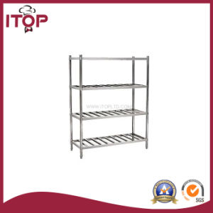 Stainless Steel AISI201 Economical 4 Tiers Storage Rack (SR-R06) pictures & photos