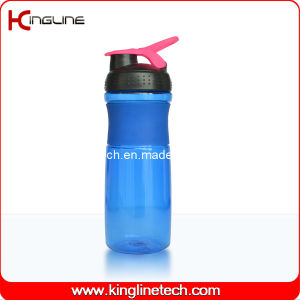 750ml Plastic Shaker Bottle with Stainless Blender mixer Ball pictures & photos