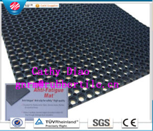 High Quality Anti-Fatigue Rubber Mat/Anti-Slip Kitchen Rubber Mat/ Boat Deck Drainage Rubber Mat pictures & photos