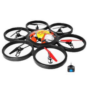 Ex-Large 80cm Diameter 2.4G 4.5CH 6-Axis RC Quadcopter UFO with 6-Axis Mems Gyro