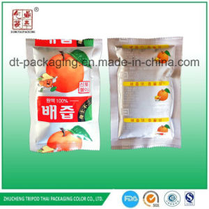Korea Aluminum Foil Fruit Apple Peach Juice Pouch Acidproof Packaging
