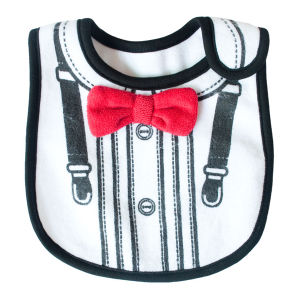 2014 Shanghai Fashionable Cotton Printed Baby Bibs pictures & photos