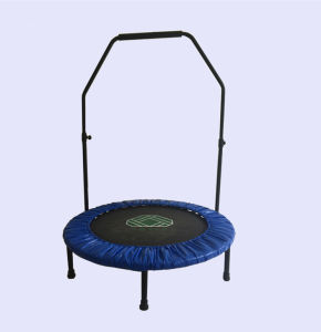 Sld48inch Customized Trampoline with Handrail, Fitness Trampoline, Round Trampoline pictures & photos