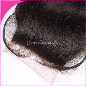 Best Bundles Hair Accessory High Quality Indian Hair Lace Closure Body Wave Virgin Hair pictures & photos