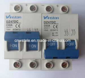 DC125V DC250V DC440V DC Mini Circuit Breaker (DZ47-63DC) pictures & photos