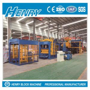 Qt8-15 Full Automatic Hydraulic Pressure Block Machine Plant in Sri Lanka pictures & photos