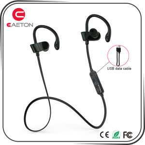 Bluetooth Stereo Earphone Ear-Hook Wireless Earbuds for Promotion