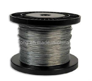 Galvanized Steel Wire Rope -7*7-1.2mm 1960mpa pictures & photos