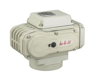 Electric Screw Thread Ball Valve with Actuator pictures & photos