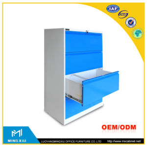 Luoyang Mingxiu Steel Office Furniture Vertical Steel Filing Cabinet / 4 Drawer Steel Filing Cabinet pictures & photos
