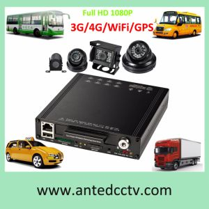Best 4/8CH Car Vehicle Mobile DVR with GPS 3G WiFi pictures & photos