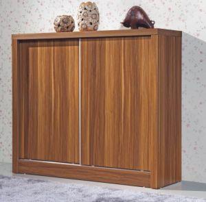 Ample Wooden Sliding Door Shoe Cabinet (HHSR05T) pictures & photos