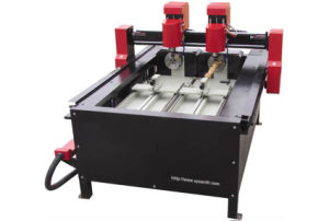 Two-Head CNC Router for Engraving and Cutting pictures & photos