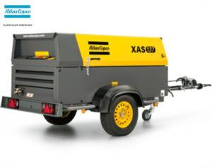 Xas137 (XAS300) 269cfm 7bar Atlas Copco Screw Portable Air Compressor