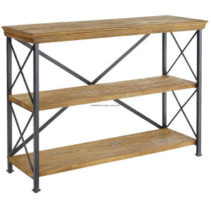 Perforated Panel Metal Supermarket Shelf/Supermarket Gondola Shelf pictures & photos