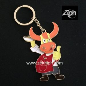 Factory Customized Zinc Alloy Keychain pictures & photos