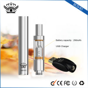290mAh Ceramic Heating 0.5ml Glass Tank Electronic Cigarette Vaporizers pictures & photos