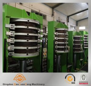 Motorcycle Rubber Tyre Vulcanizing Curing Press Machine with ISO BV SGS pictures & photos