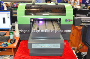 Small Format UV Flatbed Printer with LED Lamp pictures & photos