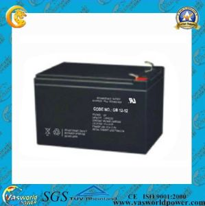 12V12ah Rechargeable Solar Battery for Solar Power System pictures & photos